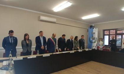Il presidente della Regione Alberto Cirio in visita a Mappano   FOTO