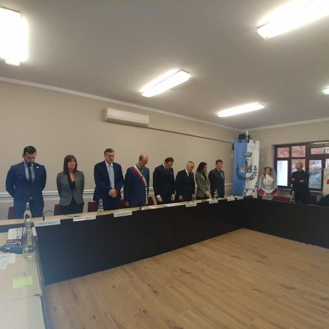 Il presidente della Regione Alberto Cirio in visita a Mappano