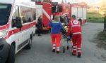 Incidente sul lavoro a Salassa | FOTO