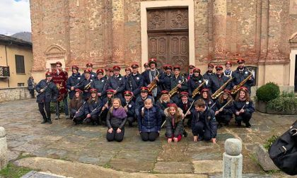 Santa Cecilia musica protagonista con la Filarmonica di Corio