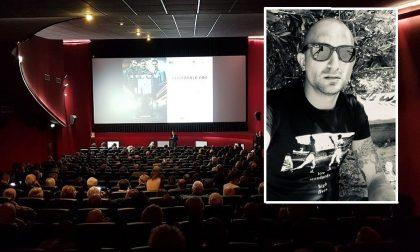 Il creativo cuorgnatese Umberto Burro al lavoro per il grande schermo