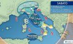 Maltempo: nuovo potente ciclone nel week end