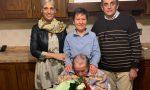 Mathi: auguri a nonna Teresa, 100 anni