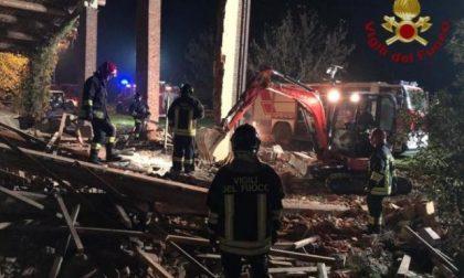 Tragedia ad Alessandria: crolla una casa, morti tre vigili del fuoco