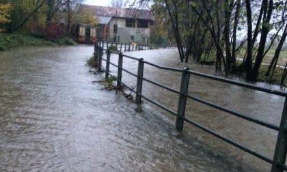 Maltempo: strade chiuse a Chiaverano e San Giorgio, cascina Granda isolata a Bairo - LE FOTO