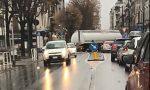 Tir in transito in centro a Rivarolo traffico bloccato | VIDEO