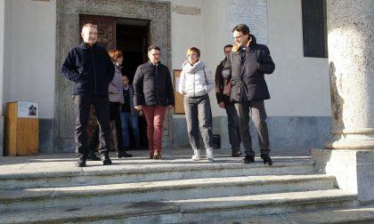 Santuario di Belmonte, l'assessore regionale Tronzano in visita