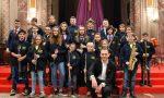 La Filarmonica di Castellamonte ha festeggiato Santa Cecilia