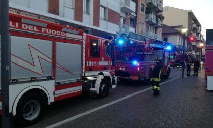 """""""Brucia un camino"""": ma era falso allarme"""