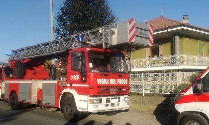 Incendio in una villetta ad Agliè: uomo elitrasportato a Ciriè