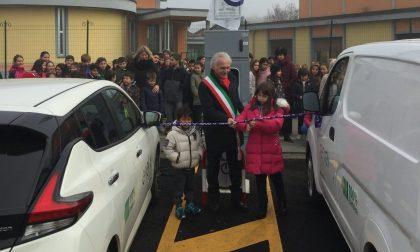 A Bollengo inaugurata la prima stazione di ricarica per auto elettriche