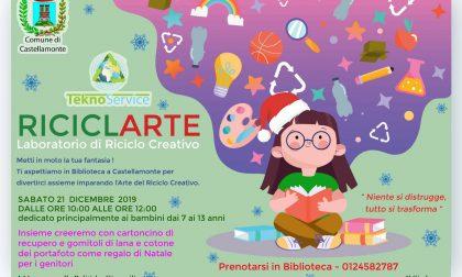 RiciclArte, sabato a Castellamonte ultimo appuntamento dell'anno