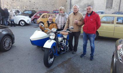 Amici delle vecchie ruote: un successo il raduno di Salto frazione di Cuorgnè