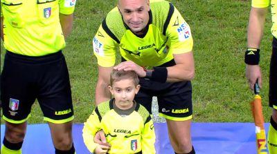Loris Augusti in campo per Torino-Spal