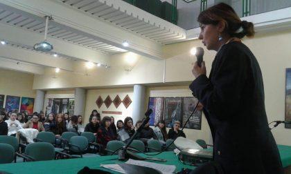 Lezione di Costituzione al liceo Faccio di Castellamonte