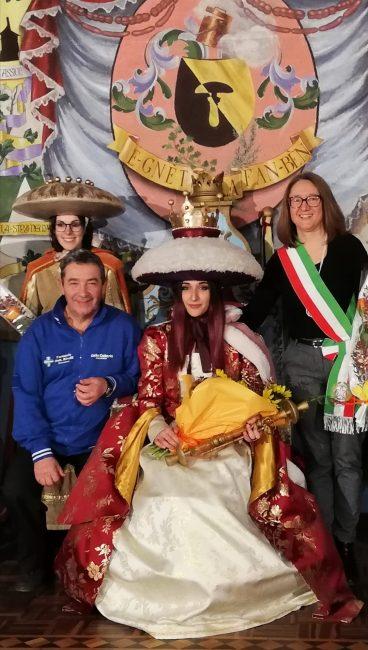 Il Carnevale di Bosconero ha aperto le danze: incoronata Miriam Zappavigna