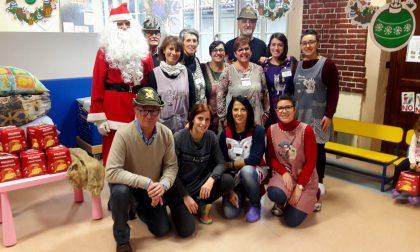 Babbo Natale Alpino all'asilo Nido Luttati di Valperga   FOTO