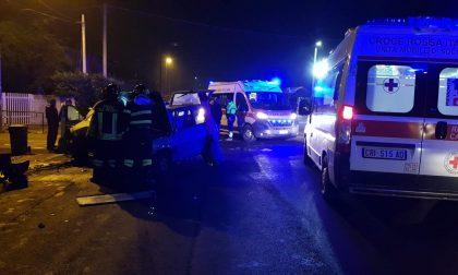 Incidente a Favria sulla provinciale per Busano, due feriti