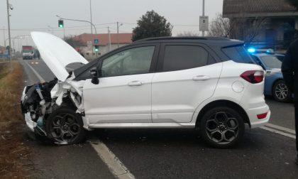 Incidente sulla Ex 460 a Feletto, tre auto coinvolte