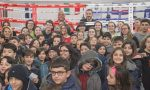 Leonardo Bonucci a Ivrea per un evento contro il bullismo organizzato da Nalboxe