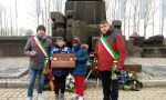 La poesia della primaria di Ozegna al monumento di Auschwitz-Birkenau