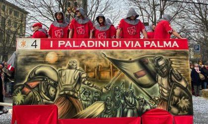 I Paladini di via Palma vincono il premio Artisti Carri da Getto
