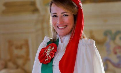 La Mugnaia 2020 dello Storico Carnevale di Ivrea è  Paola Gregorutti in Paonessa | FOTO