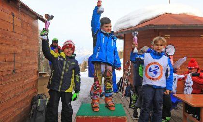 Grandi numeri per la terza tappa della Coppa Canavese di sci