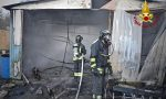 Incendi nel Torinese: a fuoco un fienile e un deposito attrezzature | FOTO e VIDEO