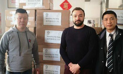 La comunità cinese dona materiale sanitario alla Regione Piemonte