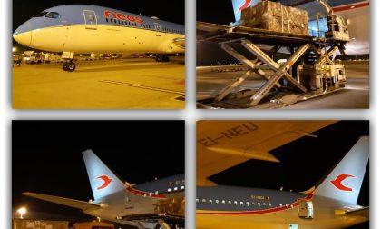 Fondazione Crt: attivato ponte aereo con la Cina, in arrivo 2 tonnellate di materiali