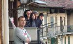 """Appuntamento giornaliero con il """"Flash mob""""  dai balconi a Fiano"""