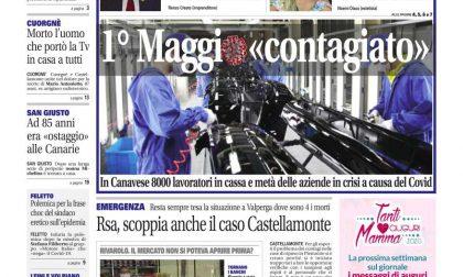 Il Canavese – edizione Rivarolo (del 29 aprile) in edicola. Ecco la prima pagina