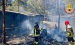 Incendio in un campeggio a Bardonecchia | FOTO
