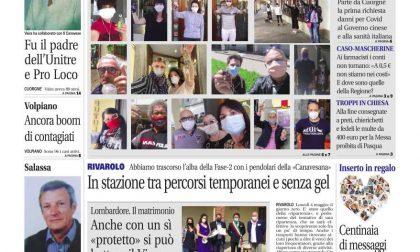 Il Canavese – edizione Rivarolo (del 06 maggio) in edicola. Ecco la prima pagina