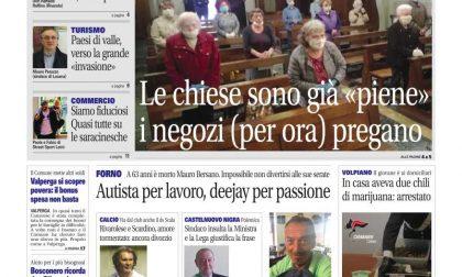 Il Canavese – edizione Rivarolo (del 20 maggio) in edicola. Ecco la prima pagina