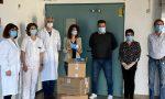Paola Gianotti consegna 4500 mascherine all'Ospedale di Ivrea