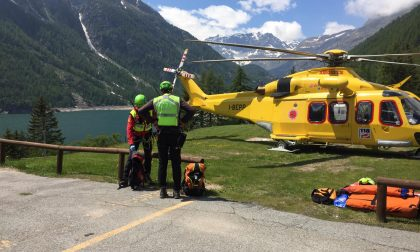 Ceresole, Cima della Ciarma: Escursionista salvato dal soccorso Alpino