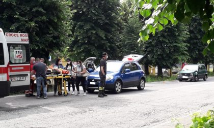 Incidente a Leini, tre feriti   FOTO