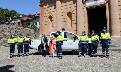 Nuovo mezzo per la Protezione civile di Bollengo