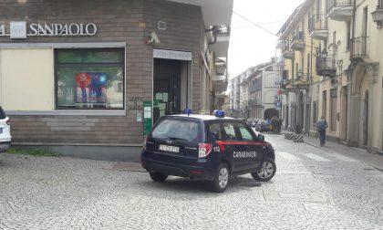 Rapina in banca a Castellamonte alla filiale San Paolo