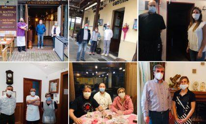 I ristoranti riaprono e i primi clienti sono gli amministratori della città