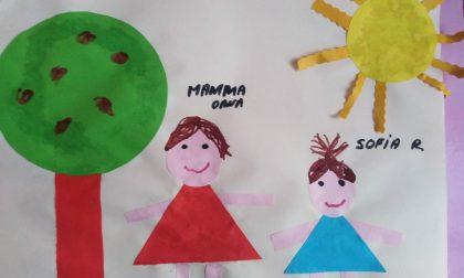 I disegni degli alunni della Materna «La Famiglia»