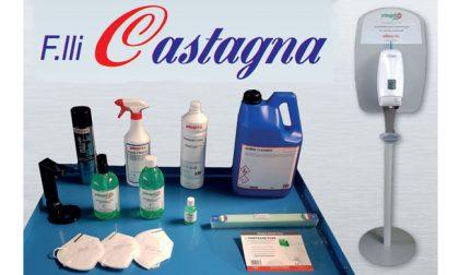 Mascherine e prodotti per la sanificazione nel Canavese