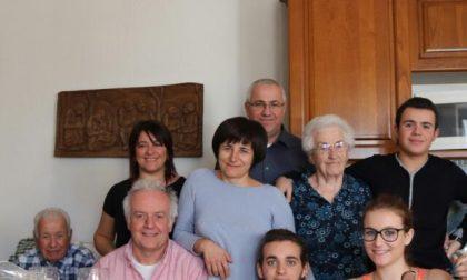 Nonna Michelina ha riabbracciato la sua famiglia