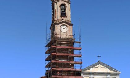 Iniziati i lavori alla torre campanaria di San Francesco al Campo