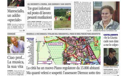 Il Canavese – edizione Rivarolo (del 03 giugno) in edicola. Ecco la prima pagina