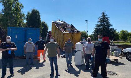 Raccolta rifiuti ingombranti: a Favria un esempio di civiltà