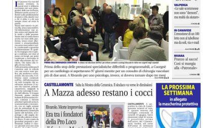 Il Canavese – edizione Rivarolo (del 24 giugno) in edicola. Ecco la prima pagina