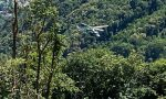 Parapendio precipita al monte Cavallaria, intervento dei Vigili del fuoco